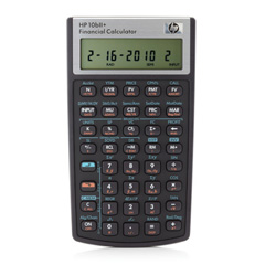 HP 10biiPlus Financial Calculator